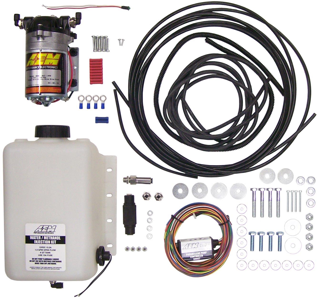 AEM Water Injection Methanol Injection Kit
