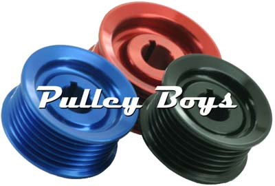 Six Groove BBK Keyed Pulley