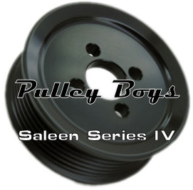 Whipple Style Modular Supercharger Pulley