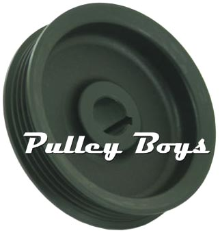Comptech 4 Groove Keyed Pulley