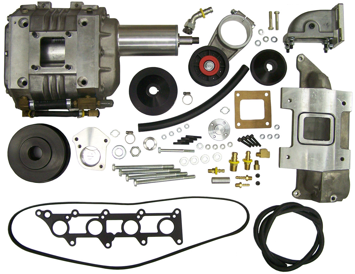 "Suzuki Samurai 4"" Camden Supercharger Kit"